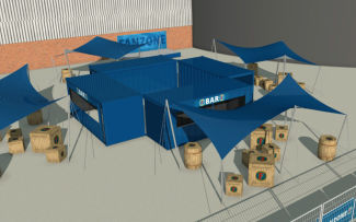 Britcab are proud to announce the launch of the new fosters fan zone at Leeds United.