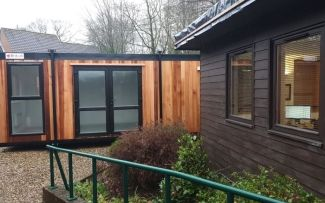 Brand New Timber Clad Cabin, Designed by Customer, Built by us