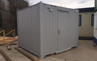 10' x 9' Brand New Anti-Vandal Steel Office Unit, York