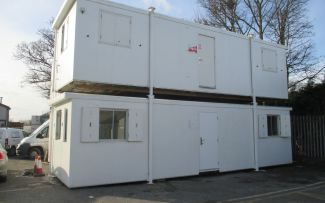 32' x 10' Plastisol Steel Canteen Unit, West Yorks