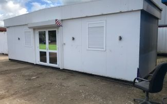 32'x10' Plastisol Steel Marketing Suite, York