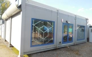 32' x 23' Genuine Portakabin Two Bay Modular Building, Essex