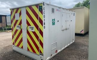 12' x 8' Genuine Groundhog 360 Towable Welfare Unit, York