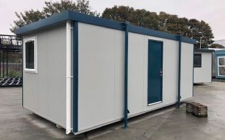 20' x 10' Brand New Plastisol Steel Office - 3 Available!, Hull