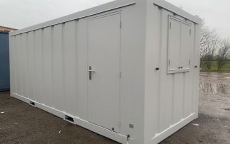 20' x 8' Anti Vandal Office/ Canteen Cabins - Brand New!, York