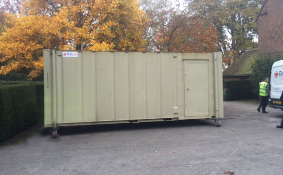 J Lister Electrical 20 X 8 Anti Vandal Cabin