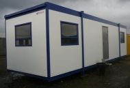 32' x 10' Plastisol Steel Fully Refurbished Office