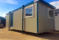 24' x 9' New 'Britannia' Plastisol Steel Office