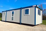 32' x 10' New 'Britannia' Plastisol Steel Office
