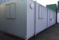 32' x 10' Anti-Vandal Steel Changing Room with Showers