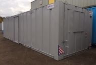 32' x 10' Anti-Vandal Steel Office Unit