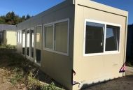 32'x10' Plastisol Steel Office