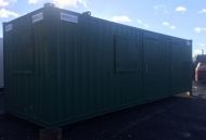 26' x 9' Anti-Vandal Steel Self-Contained Welfare Unit with Office