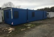 48'x12' Plastisol Steel Office Unit.