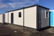32' x 10' Plastisol Steel Office/Canteen Unit