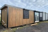24' x 9' Timber Clad Marketing Suite