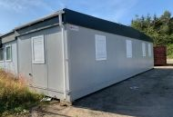 40' x 12' Plastisol Steel Office Unit