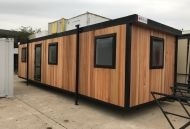 32' x 10' Brand New Cedar Clad Office - CANCELLED ORDER