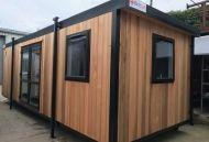 26' x 10' Brand New Cedar Clad Office - CANCELLED ORDER