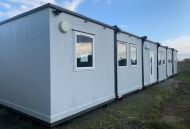 28'x60' 6 Bay Timber Textured Modular Building
