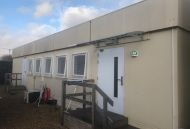 5 Bay Modular Office Building with Canteen and Toilets