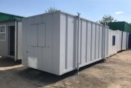 24' x 9' Anti-Vandal Steel Office/Canteen Unit