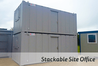 Stackable Site Office