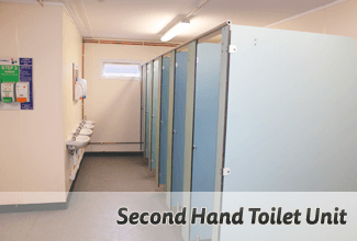 Second Hand Toilet Unit