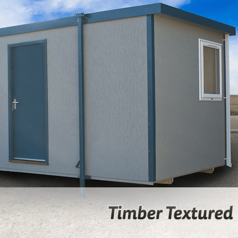 New Build Timber Textured Cabins