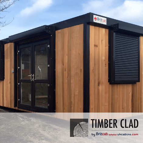 New Build Timber Clad Cabins
